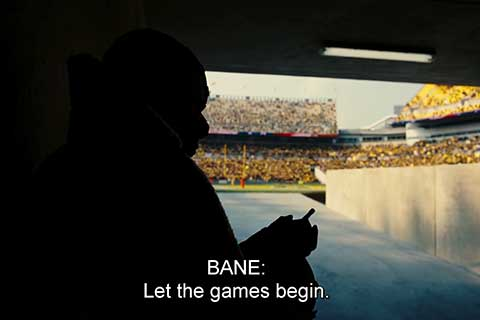 let the games begin, the dark knight rises movie quotes