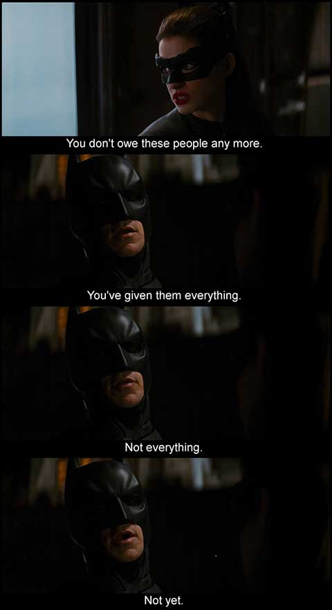 the dark knight rises movie quotes