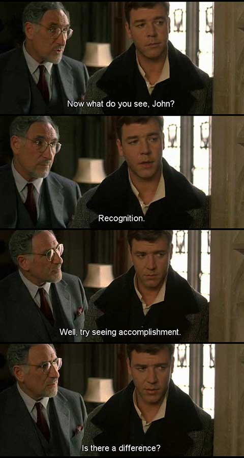 a beautiful mind movie quotes, escapematter