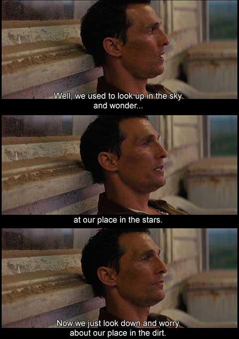 Interstellar movie quotes