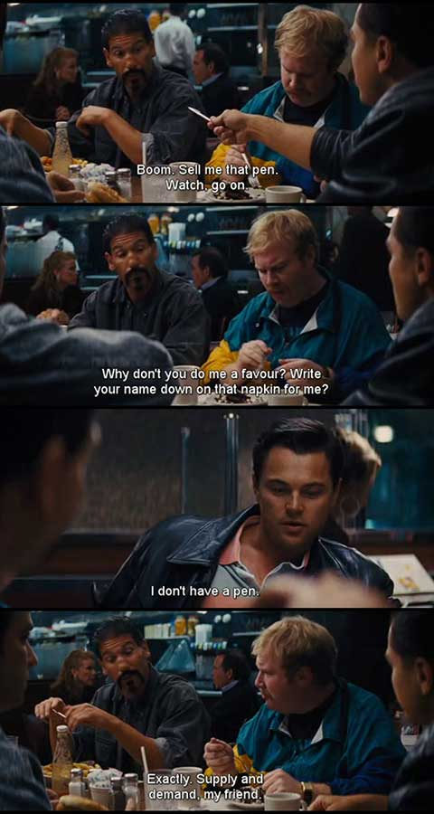 wolf of wall street movie quotes