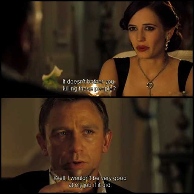 casino royale james bond Movie Quotes