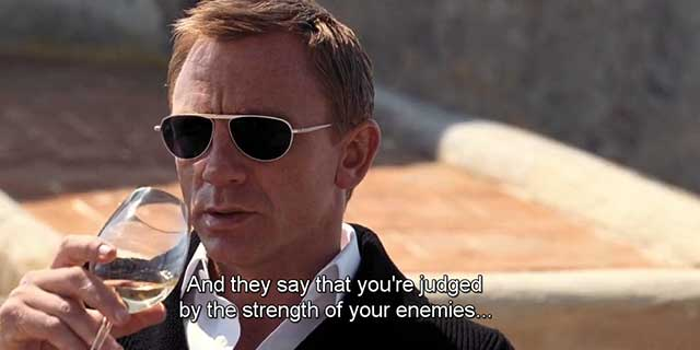 Quantum of Solace Movie Quotes