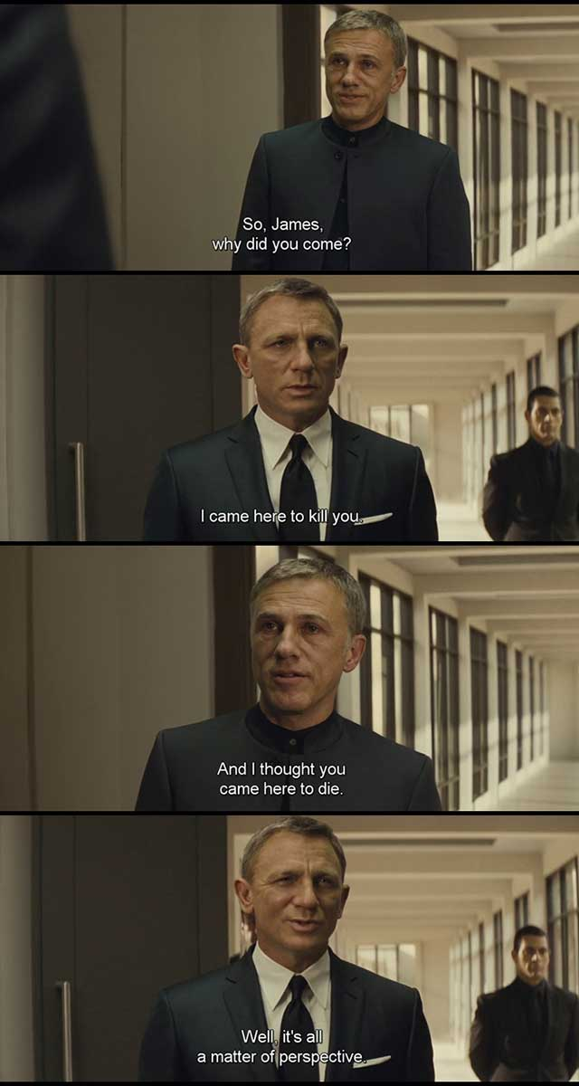 james bond spectre movie quotes