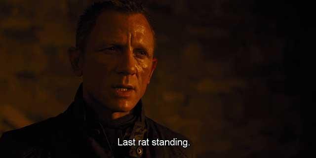 James Bond – Skyfall Movie Quotes