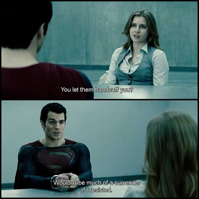 Superman: Man of Steel Movie Quotes