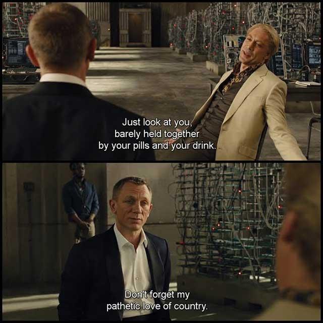 james bond skyfall movie quotes