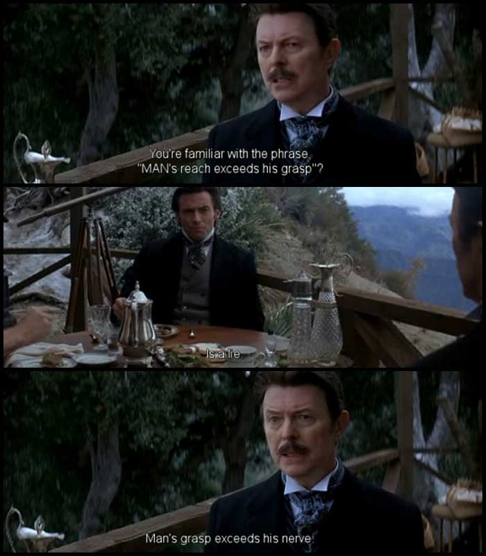 Prestige movie quotes