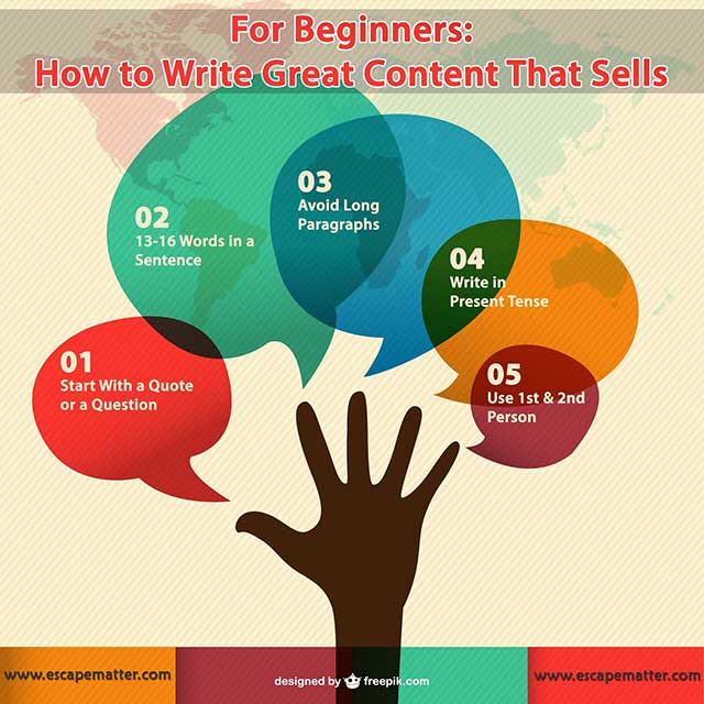 For Beginners: How to Write Great Content That Sells