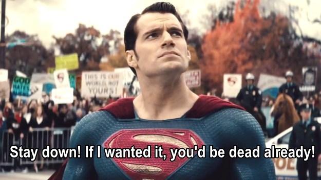 superman quotes, batman v superman: dawn of justice