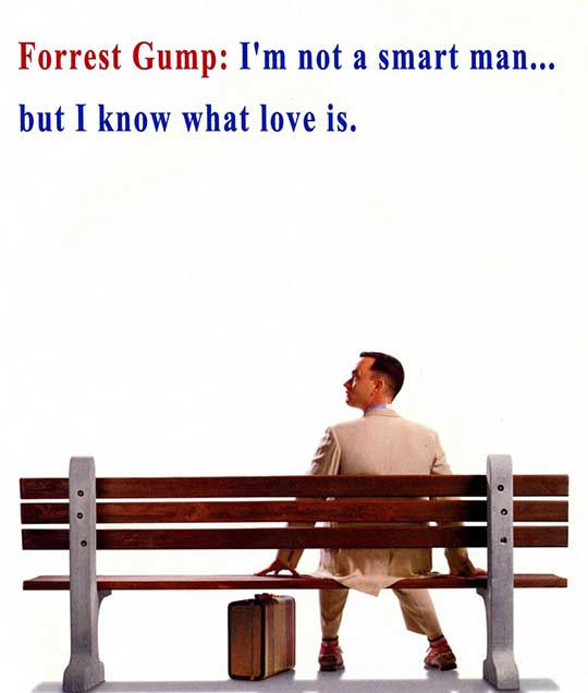 Forrest Gump Movie Quotes - Hollywood Movie Quotes - EscapeMatter