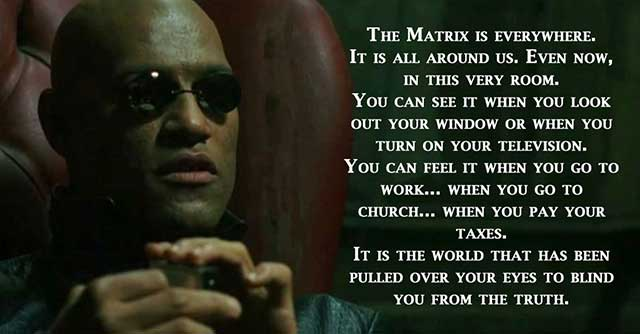the matrix movie quotes, escapematter