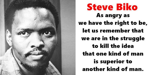 Steve Biko quotes, cry freedom