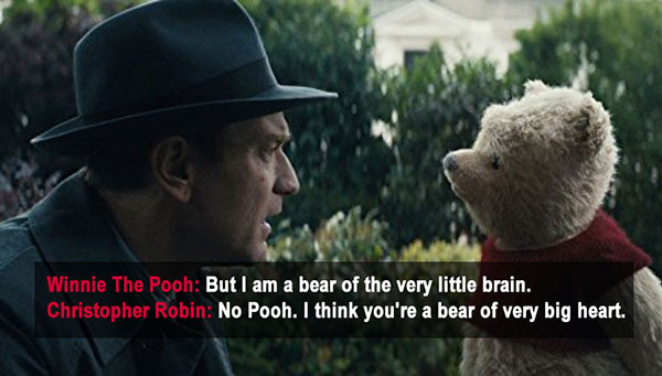 pooh movie quotes, christopher robin quotes