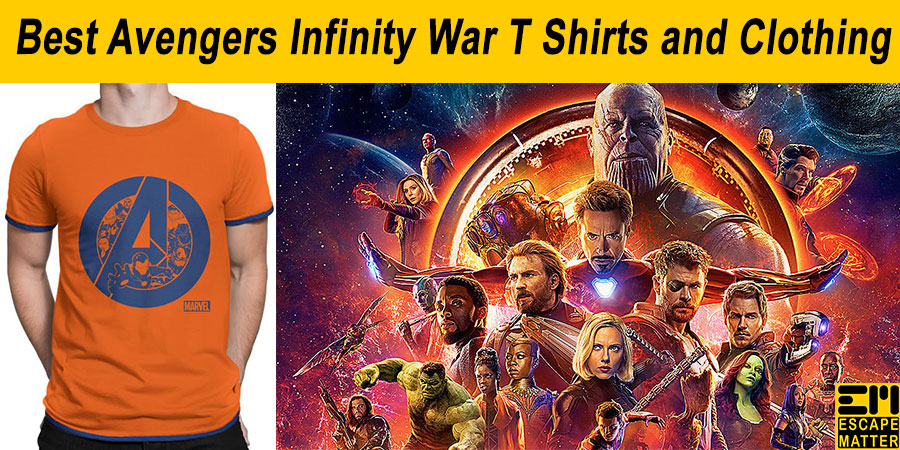 avengers t shirts and clothing