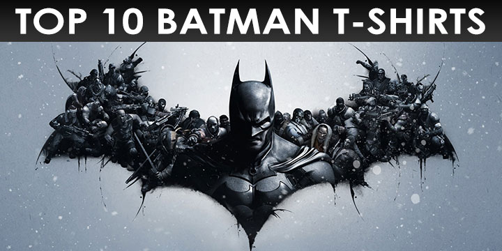 Top 10 Batman T-Shirts and Clothing