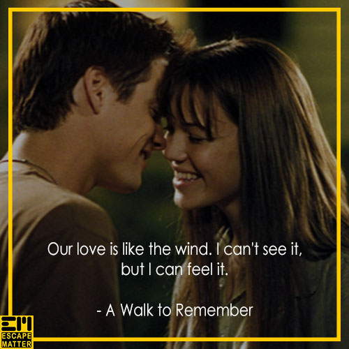 20 Love Movie Quotes for Couples - EscapeMatter